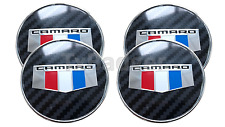 2016 2017 Camaro Center Wheel Caps Badge - 4 Count - Perfect Fit - ABS - L@@K!