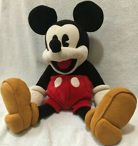 "Folkmanis Disney Mickey Mouse 90th Anniversary 23"" Full Body Plush Puppet Toy"