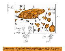 VOLVO OEM 11-13 C30-Headlight Head Light Headlamp 31294553