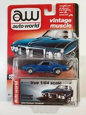 Auto World Vintage Muscle 1969 Pontiac Firebird #3 New Tool 1:64 ( New )