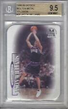 1998-99 SKYBOX MOLTEN METAL XPLOSION BGS 9.5 old label  RC rookie JASON WILLIAMS