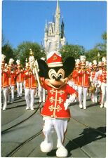 Walt Disney World, Strike up the Band, Drum Major Mickey Mouse Leads Postcard