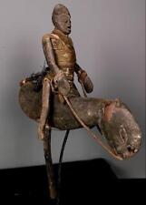 Outstanding Tribal Bambara Puppet  Horse Rider Figure -- Mali