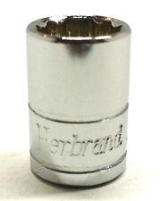 """Vintage Herbrand Socket Jm113, 12Pt. 13mm, 3/8"""" Drive"""