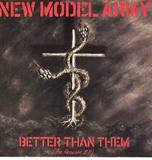 "NEW MODEL ARMY Better Than Them The Acoustic E.P. 1985 UK 12"" vinyl Single EXCE"