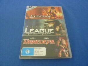 Elektra / The League of Extraodinary Gentlemen / Daredevil - DVD - Region 4