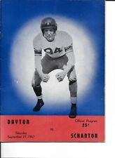 1947 Dayton-Scranton Program Flyers-Royals Opener NICE!!