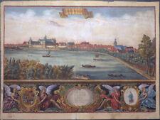 SACHSEN-ANHALT COSWIG COSSWICK AUS FÜRSTENTUM ANHALT KUPFERSTICH BECKMANN 1710