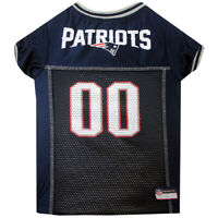 New England Patriots NFL Pets First Licensed Dog Pet Mesh Jersey XS-2XL NWT