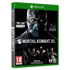 Pal version Microsoft Xbox One mortal Kombat XL