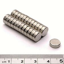 Super Strong Magnets (9mm Dia x 3mm) * Pull force 1.5Kg * Powerful Disc Magnet