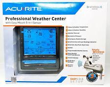 Wireless Weather Center Station Forecast Yard Sensor Indoor Outdoor Temperature