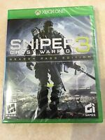 Sniper: Ghost Warrior 3 -- Limited Edition (Microsoft Xbox One, 2017) NEW