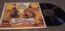 """Levi's Shoes & Boots """"The Austin All-Star Sound"""" VARIOUS ARTISTS LP BARE, NELSON"""
