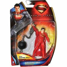 """Superman 3.75"""" With Wrecking Ball  Action Figure"""