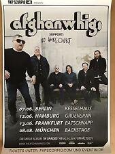THE AFGHAN WHIGS  2017  TOUR   - orig.Concert Poster -- Konzert Plakat  A1 NEU