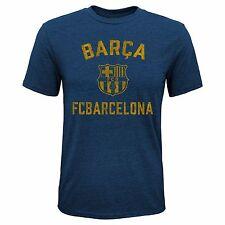 FC Barcelona Camiseta equipo juvenil logotipo de cresta/Talles S-XL