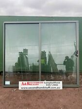 NEW Aluminium SLIDING DOOR 2100h x 2400w (approx size) 5 COLOURS