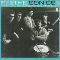 THE SONICS - HERE ARE THE SONICS!   VINYL LP NEW+