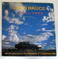 "JACK BRUCE - I FEEL FREE - MAKE LOVE (PART.II) - 45gg 7"" NUOVO"