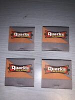 1997 Las Vegas Star Trek Experience 4 Quark's Bar Restaurant Matchbooks-Mint
