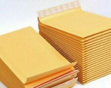 25- 4x6 Kraft Paper Bubble Padded Envelopes - Mailers