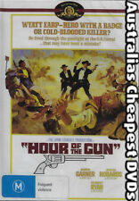 Hour Of The Gun DVD NEW, FREE POSTAGE WITHIN AUSTRALIA REGION ALL