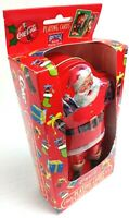 Coca Cola Coke Christmas Santa Bicycle Playing Cards Collectors Tin 1 Deck Only