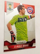 carte  football Prism Fifa world cup Brazil 2014  N*41 Chile Panini card foil