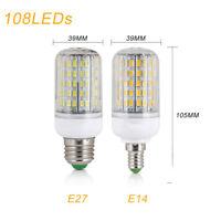 E27 E14 5730 SMD LED Corn Bulb Spotlight Lamp Candle Light AC110V 220V 7W-45W