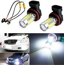 2x HID CREE H11 H8 H9 Q5 COB LED Bulbs Fog Lights + Canbus Decoders Error Free