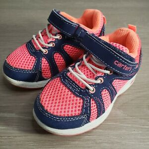 Carter's Toddler Girl Light Up Pink And Blue Shoes