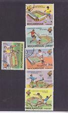 MOZAMBIQUE-1981-FOOTBALL SET SET-CTO/NO HINGE/FULL GUM-$4-freepost