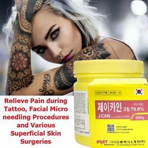 500g Crema Anestésica Tatuajes Adormecida Semipermanente Entumecida Jchan 79.9%