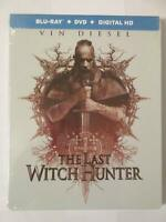 The Last Witch Hunter  Steelbook (Blu-ray/Dvd/Digital HD Copy) (2015) Brand New
