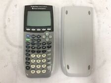 Texas Instruments TI-84+ Silver Graphing Scientific Calculator + Cover Sleeve