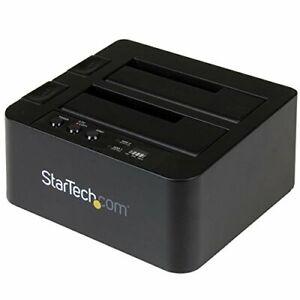 "Startech.com Usb 3.1 [10gbps] Standalone Duplicator Dock For 2.5"" & 3.5"" Sata"
