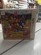 Mario & Sonic ai Giochi Olimpici di Londra 2012 3DS USATO GARANTITO