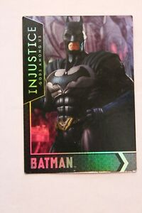 Lot of 10 Injustice Holofoil Arcade Cards - Great Condition