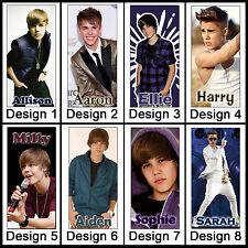 Personalised Justin Bieber / Beiber Pen + Name - Ballpoint Pen, Black ink - Gift