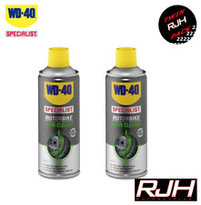 WD40 Specialist Motorbike Motorcycle Chain Cleaner X2 400ml WD-40 Cagiva