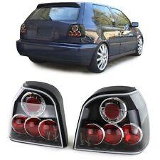 Klarglas Rückleuchten schwarz für VW Golf 3 91-97