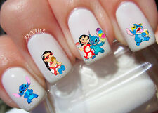 Lilo and Stitch Nail Art Stickers Transfers Decals Set of 64