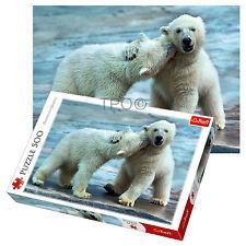 Trefl 500 PEZZI Adulto Grande Orso Polare Gioco Divertente neve ghiacciata PUZZLE NUOVO