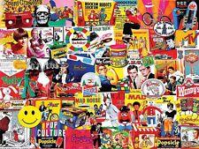 Pop Culture 1000 piece jigsaw puzzle   760mm x 610mm   (wmp)