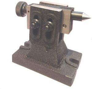 Lathe Adjustable Tailstock for Rotary Table Hardened & Ground Point Machine Tool