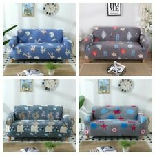 Cartoon 1/2/3/4 Seater Slipcover Stretch Sofa Cover Protector Couch Cover