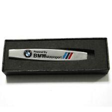 NEW 3D MOTORSPORT M POWER LOGO METAL Decal Badge Sticker Emblem Fit For BMW Car