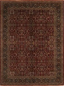 Floral Agra Handmade Oriental Area Rug Wool Traditional Home Decor Carpet 9x12