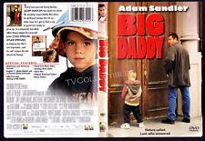 DVD~ BIG DADDY ~1999 ~Adam Sandler ~Joey Lauren Adams ~Dylan & Cole Sprouse